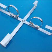 杆用内盘式余缆架精品推荐热镀锌扁钢十字型余留架国标余缆安置架