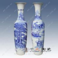 陶瓷大花瓶厂家景德镇手绘陶瓷花瓶批发