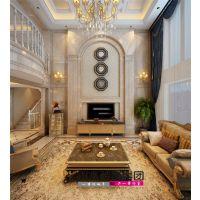 【山水装饰】鹭山湖300平米欧式大宅空间设计案例