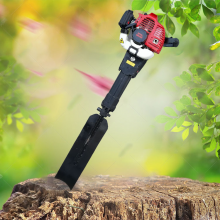 绿化苗木移树机 果园手提式挖树机 大马力铲头式挖树机