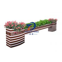 湖州花箱厂家直销PVC景观园艺花钵花箱,提供定做,送货上门