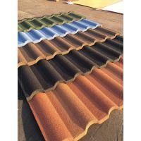 合肥金属瓦施工方案彩石金属瓦安装彩陶仿古瓦