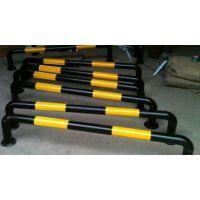 酉阳交通设施生产厂家、钢管挡车器、U型镀锌挡车杆、铁管车轮定位器18883918008