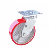重型铁心PU轮 定向脚轮 汇一定向轮