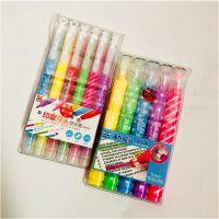 包邮荧光标记重点划线记号笔彩色学生专用儿童闪光涂鸦笔糖果可爱