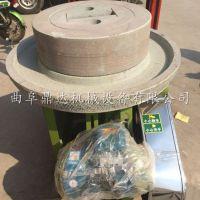 石磨用什么石头好 老少皆宜营养豆浆石磨机 鼎达高效多用