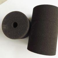 厂家定制打磨抛光海绵轮 空心海绵柱 贴标机海绵轮