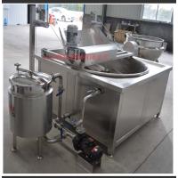 自动控温过滤 油水混合型油炸锅设备
