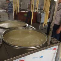 蒸汽式豆油皮机 图片 厂家供应手工腐竹油皮机 豆制品加工机械