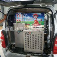一键启动多缸汽油膨化机 车载便携式杂粮膨化机 冰糖绿豆膨化机设