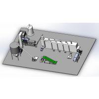 广州膨化机,狗粮颗粒机猫粮狐狸粮生产设备宠物食品生产线美腾机械