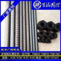 精轧高强度钢筋PSB930,环氧涂层HRB400E防腐钢筋供应甘肃白银工程