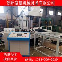郑州富德机械供应砌块砖机 小型水泥空心砌块砖机生产厂家砌块机