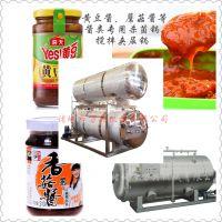厂家直销黄豆酱、蘑菇酱等酱类专用杀菌锅 釜式,搅拌夹层锅