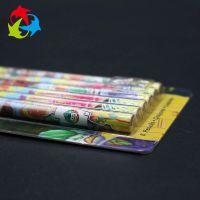 实地厂家供应文具吸塑包装 定制透明热压六只铅笔包装盒
