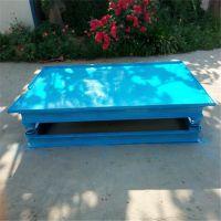 混凝土饲料灌装振动平台 养殖厂用小型振动平台