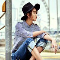 女装品牌马克华菲18春装库存折扣货源 广州服装批发市场在哪?