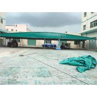 上海闸北区定做精致活动雨棚布大型物流园遮阳蓬大排档室外帐篷