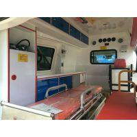 江陵县购买奔驰120急救车价格 高端医疗救护车厂家