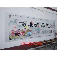 大型墙壁广告自动打印机3D墙体彩绘机立体打印机自动墙绘喷画机