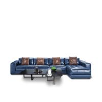 CBD家居真皮沙发,简约庄重与时尚大气共存