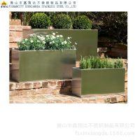 房地产园林绿化项目工程种植用花箱订做 商务大堂摆件装饰花箱