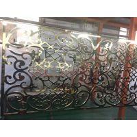 辽宁铝镂空隔断古铜电镀隔断来图制作订做厂家