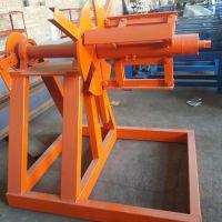 珠海仁德 全自动C型钢设备上料架自动C型钢机续料架带钢卷架子采购