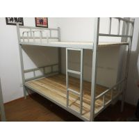 西安安卓员工宿舍公寓床学生宿舍公寓床钢制双层床在厂家直销电话13484588796