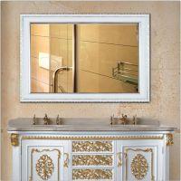 定制卫浴镜子洗手间酒店浴室镜美容院理发店 长方形半身挂镜带框 环保高分子