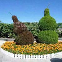 装饰大型广场仿真植物绿雕 仿真葫芦绿雕造型 可来图定制 花式绿雕