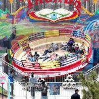 大型游乐场设备 迪斯科转盘游乐设施