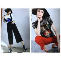 18春装欧美街头个性图案戛纳巨式品牌折扣女装尾货走份货源