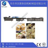厂家直销汉源HY-68L多功能带制冷牛轧奶芙营养谷物棒切块机