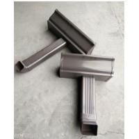 安徽省彩铝方形雨水管实力厂家别墅阳光房落水管
