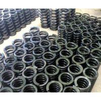 复合弹簧是由金属螺旋弹簧和橡胶复合为一体的弹性体。