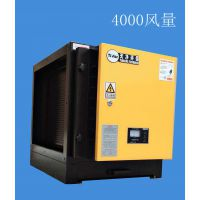 4000风量天净TJ-FJ-4超低空排放油烟净化器