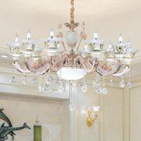 南安市中式吊灯卧室灯餐厅吸顶灯锌合金客厅吊灯客厅水晶灯