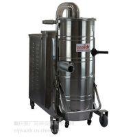 江津大功率工业用吸尘器 380V清理钢钉金属石渣吸尘器