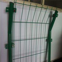 护栏网现货 绿色围栏网 隔离栅生产