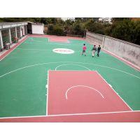 学校篮球场翻新去旧球场丙烯酸施工厂家彩色篮球场材料批发