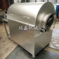 小型板栗翻炒机 70斤燃气炒籽机 商用多功能型燃气炒货机