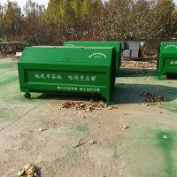 献县鑫建供应大型机械勾臂式环卫车专用垃圾箱 铁质垃圾箱 大号垃圾桶 厂家批发