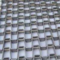 输送带生产厂家非标定制长城网带 山东卓远不锈钢网带