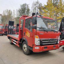 四川生产重汽豪沃蓝牌小挖机拖车的厂家在哪里