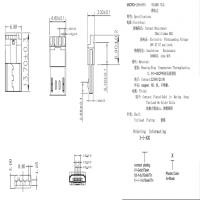 MICRO焊线式公头 USB 2.0 5P 前五后四 L=13.7MM 白色胶芯