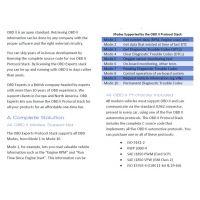 OBDII协议商业源码基于can线(ISO 15765-4)Mode1到Mode10