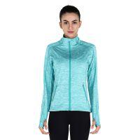 新款女士运动外套瑜伽服开衫健身户外跑步速干衣 工厂批发定制