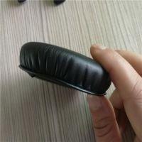 辉晟耳套厂家加工全高周波压PU平皮头戴式耳机皮耳套