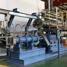 海源河北饲料膨化机新工艺大型湿法膨化机PHJ100时产2~3吨宠物粮生产线